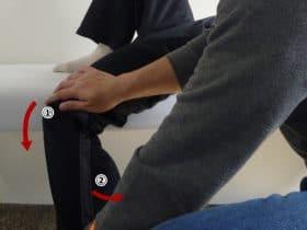 縫工筋パートナーストレッチ